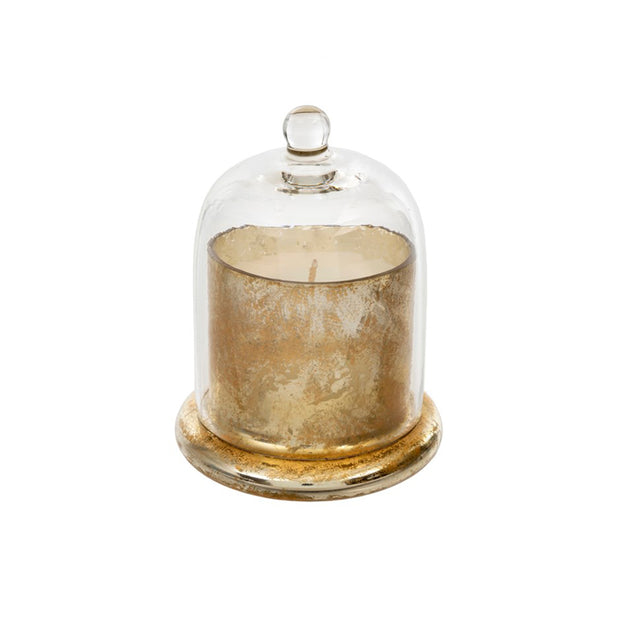 Gold Cloche Candle