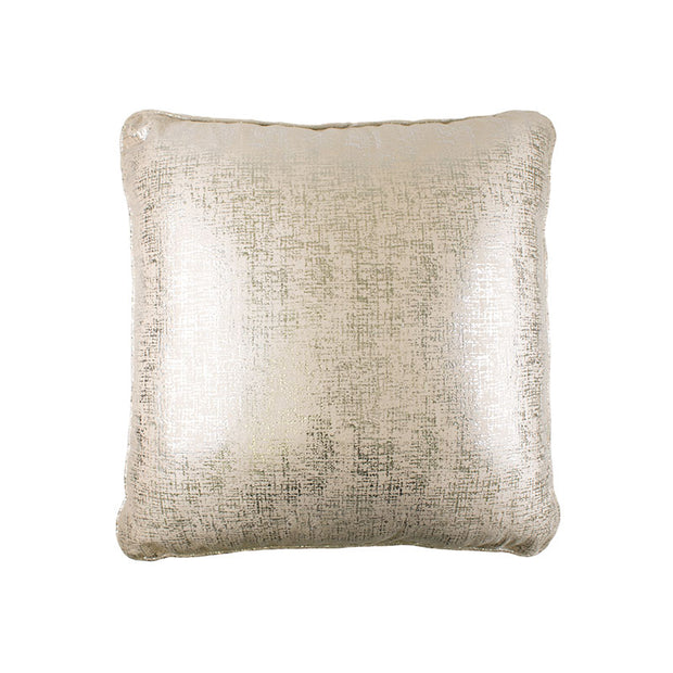 White Foil Pillow