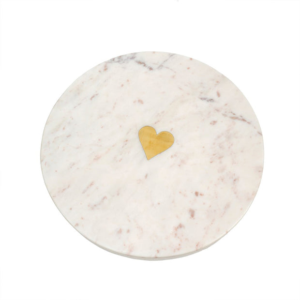 Sweet Heart Marble Cheese Board