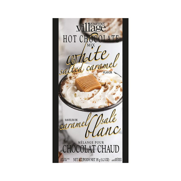 White Salted Caramel Hot Chocolate Mix