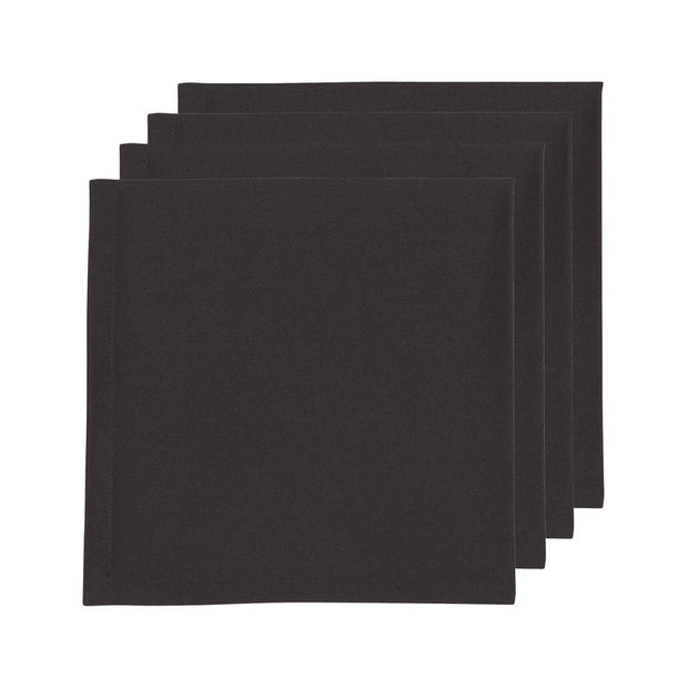 Black Renew Napkins - Set of 4