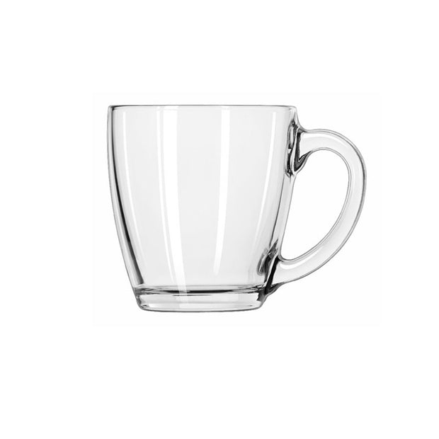 Glass Tapered Mug