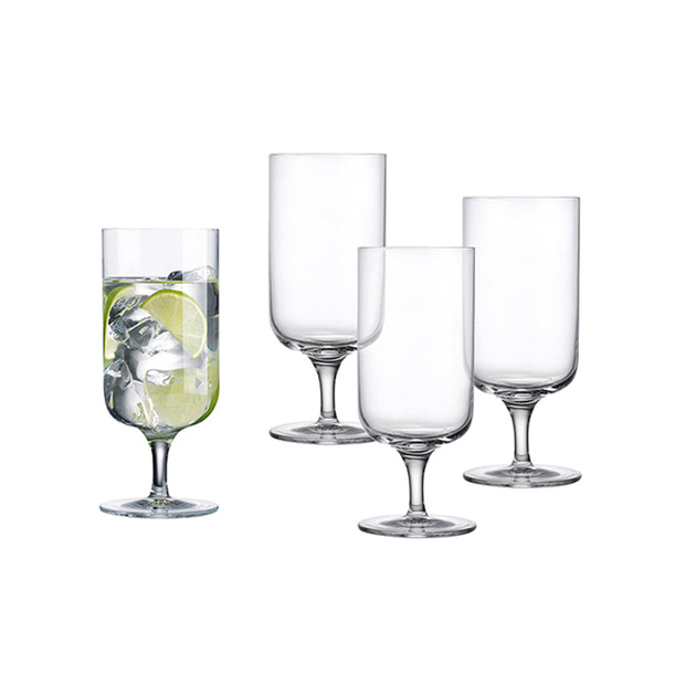 Linea Drinking Glasses - Set of 4