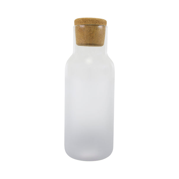 Frost Carafe with Cork Lid