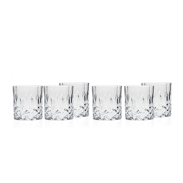 Ingrid Double Old-Fashioned Drinking Glasses - Set of 6