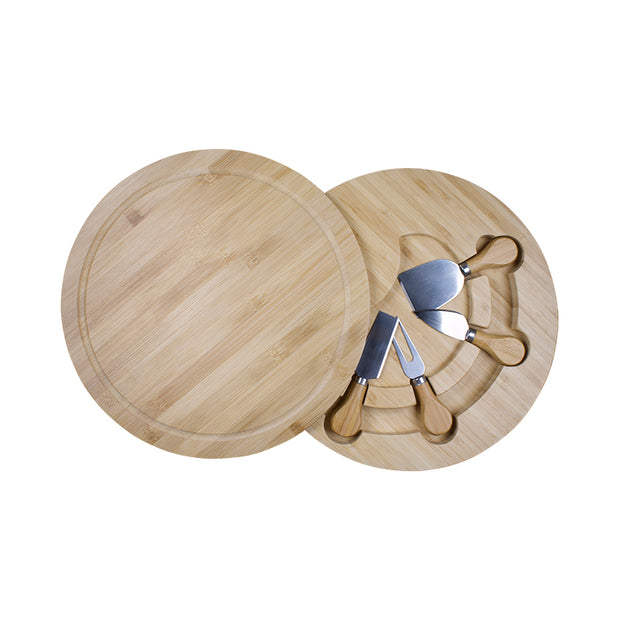 Swivel Cheese Board and Knife Set