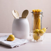 Stripe Utensil Holder