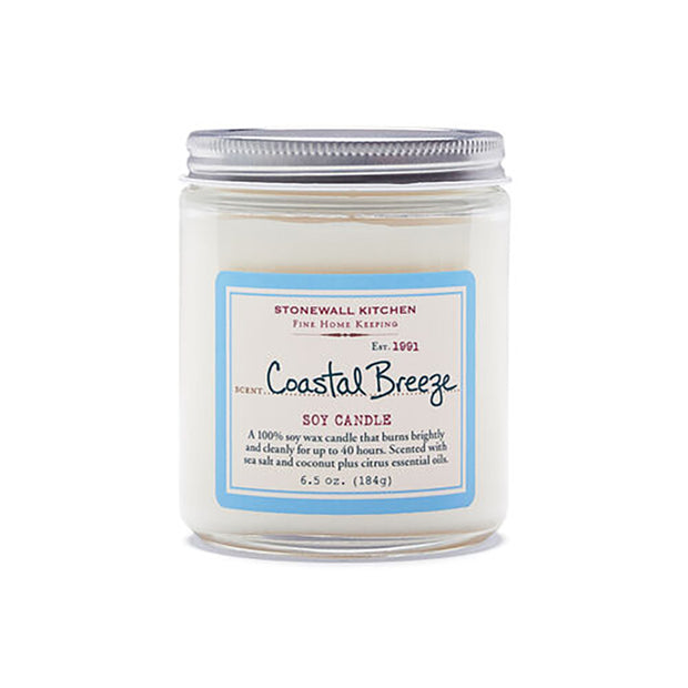 Coastal Breeze Soy Candle