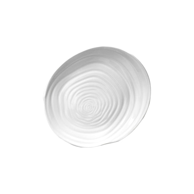 Swirl Appetizer Plates - Set of 4