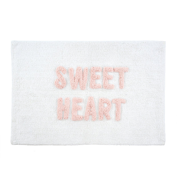Sweet Heart Bath Mat