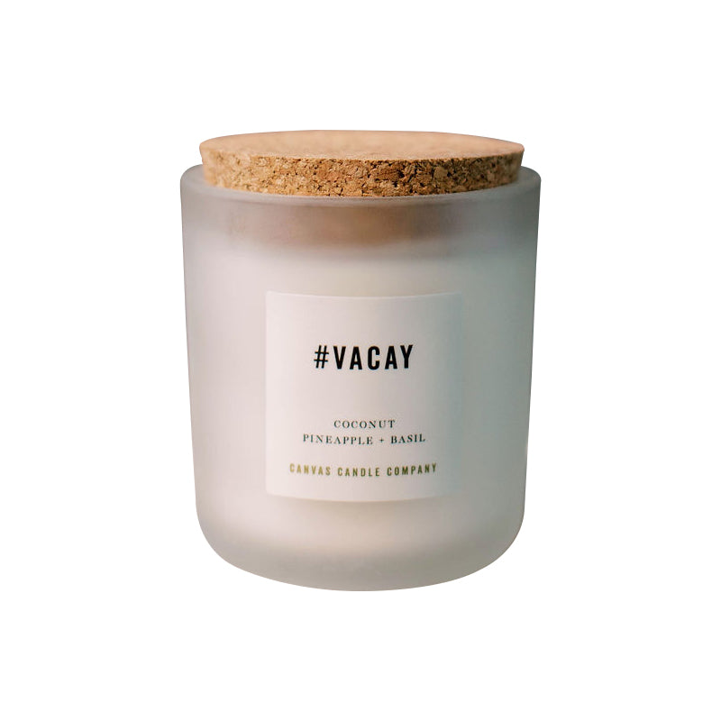 #Vacay Signature Collection Candle