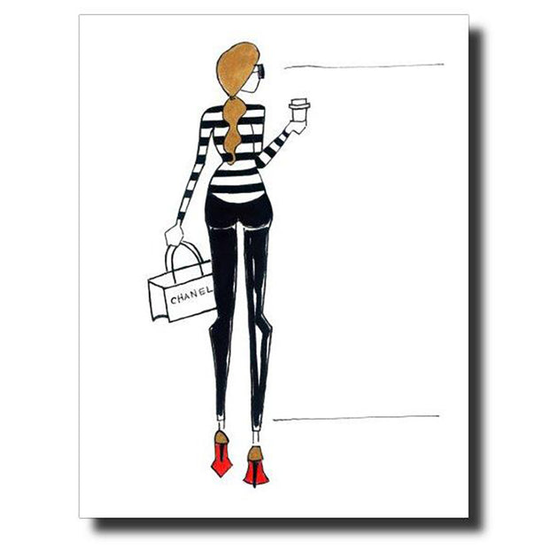 Laboutin Love Greeting Card