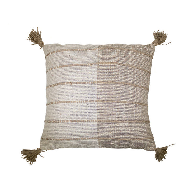 Jute Stripe Pillow