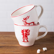 Molly Hatch Santa Coffee Mug