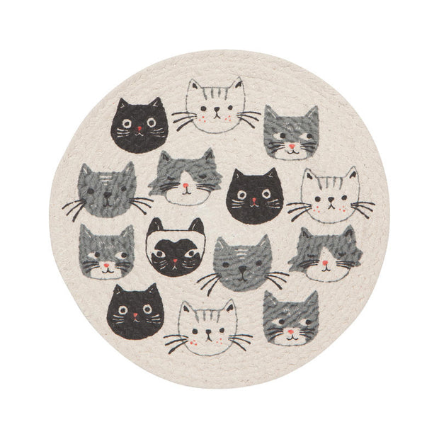 Braided Cats Meow Trivet