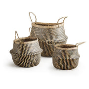 Seagrass Belly Baskets