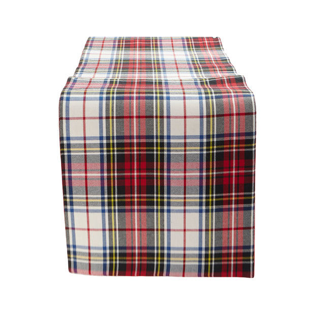 Scottish Plaid Table Runner