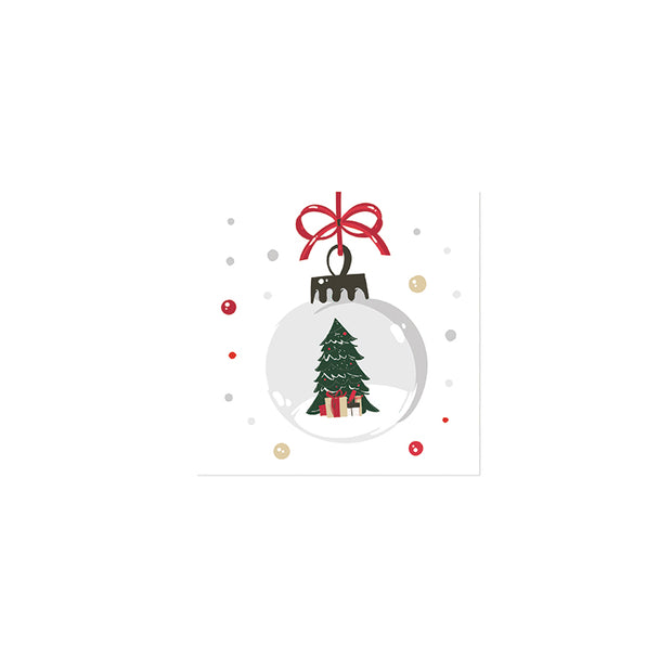 Ornament Cocktail Napkins - Set of 20
