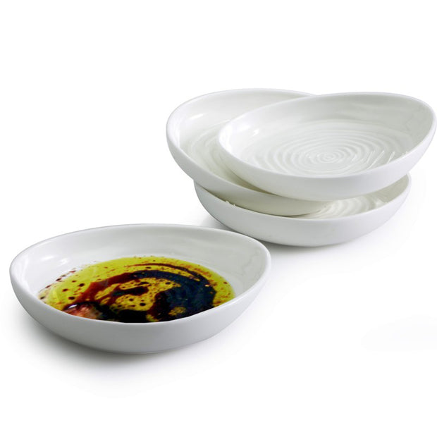 Swirl Dip Dishes - Set of 4