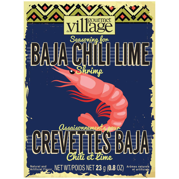 Baja Chili Lime Shrimp Seasoning