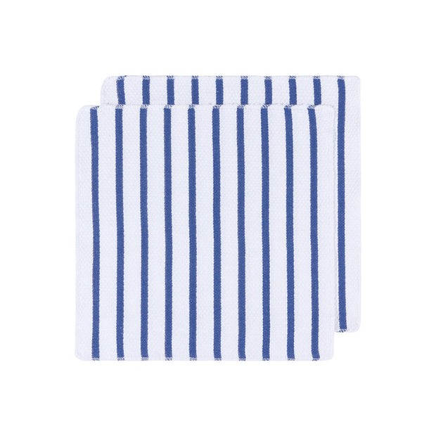 Basketweave Royal Dish Towels - Set of 2
