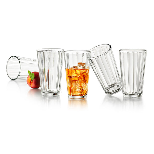 Abacus Drinking Glasses - Set of 8
