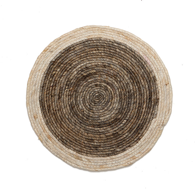Natural Woven Round Placemat