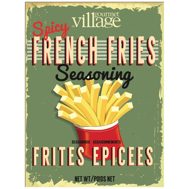 Spicy French Fry Seasoning
