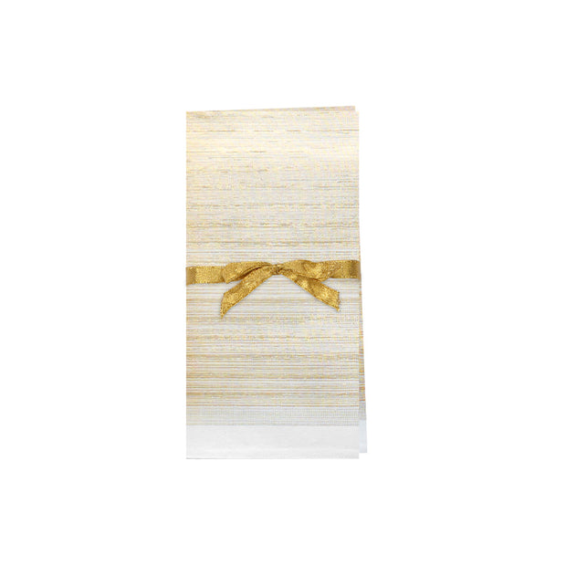 Lurex Glow Gold Napkins - Set of 4