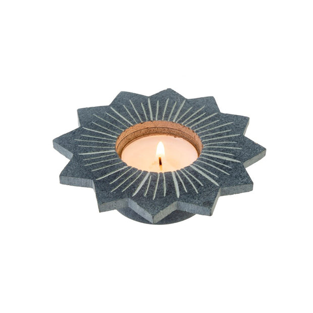 Lily Soapstone Tealight