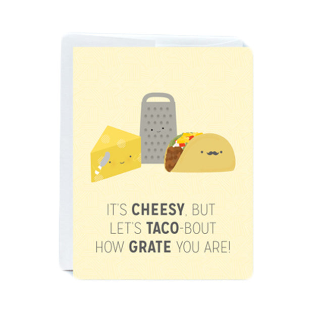 Cheesy Greeting Card