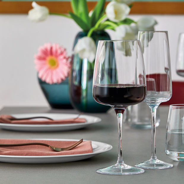Planeo Red Wine Glasses - Set of 4