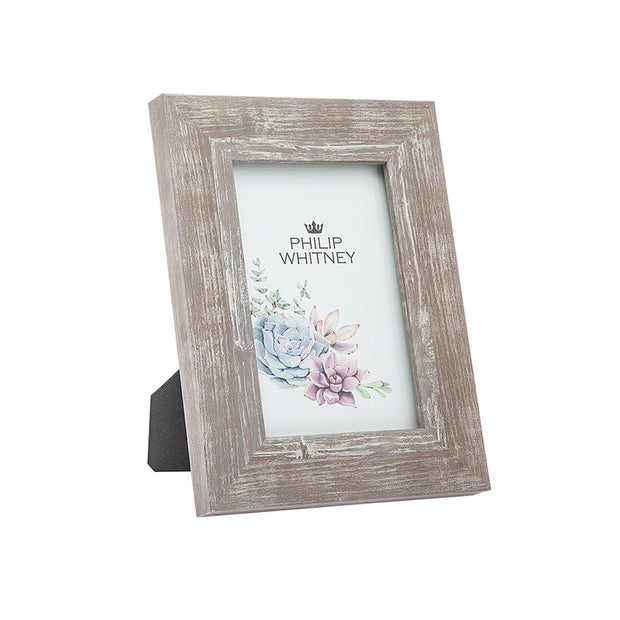 4x6 Grey Wash Picture Frame