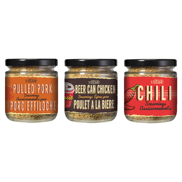 Seasoning Jars - Set of 3