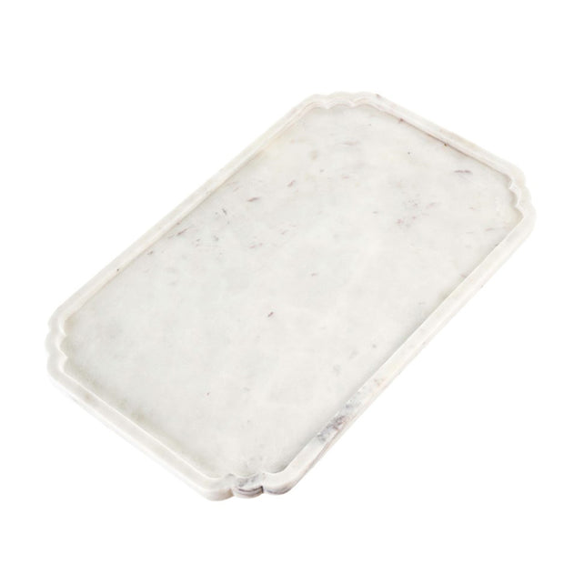 Serendipity Rectangle Marble Tray