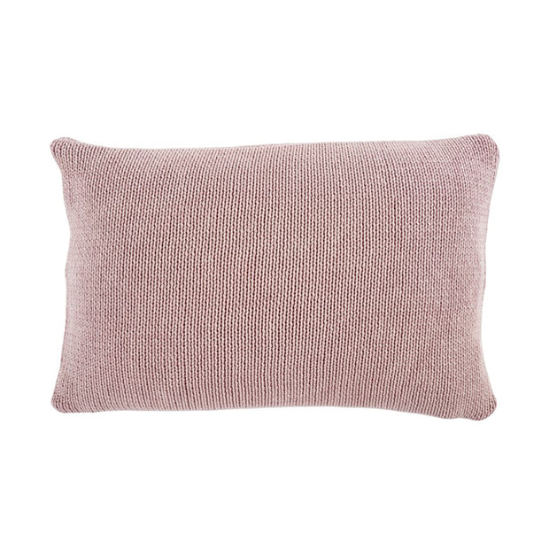 Cotton Knit Lilac Pillow