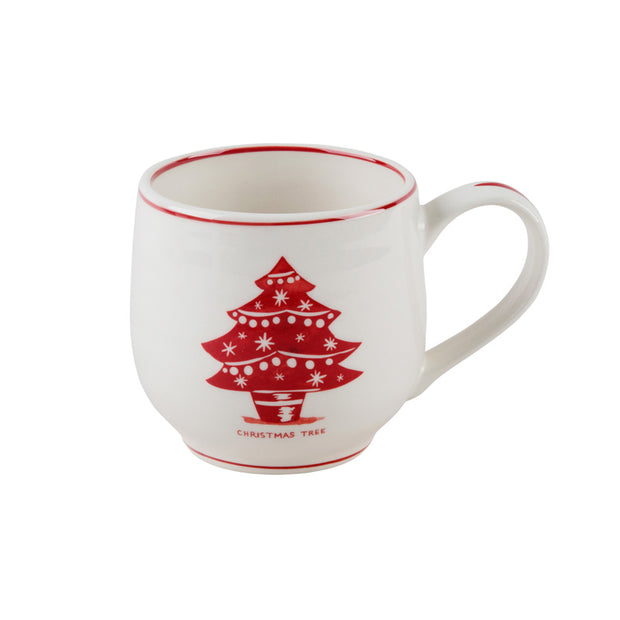 Molly Hatch Christmas Tree Coffee Mug