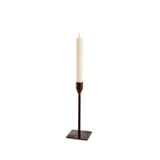Leather Bonita Medium Candlestick