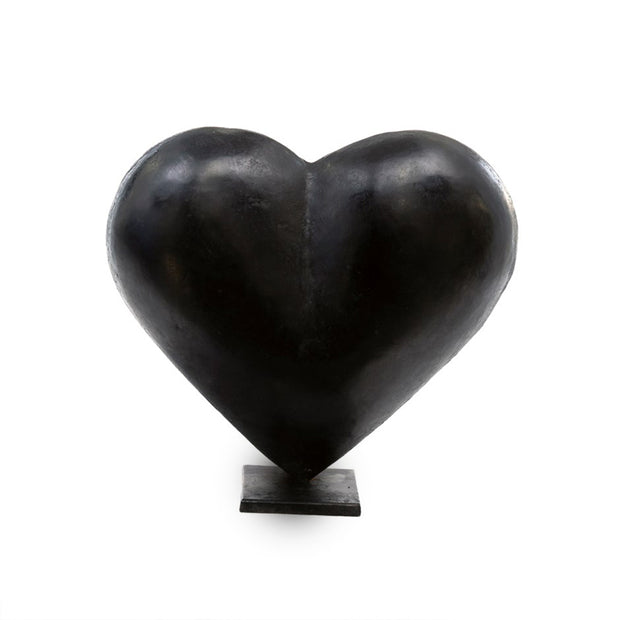 Large Dark Heart Statue