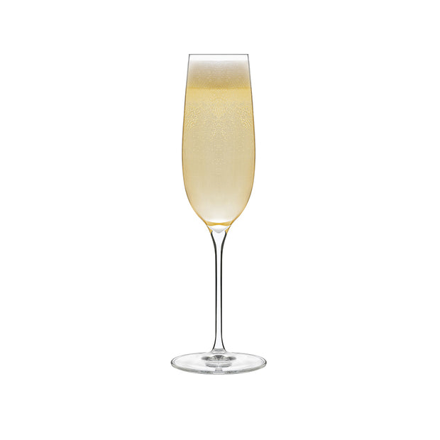 Exquisite Champagne Flutes - Set of 4