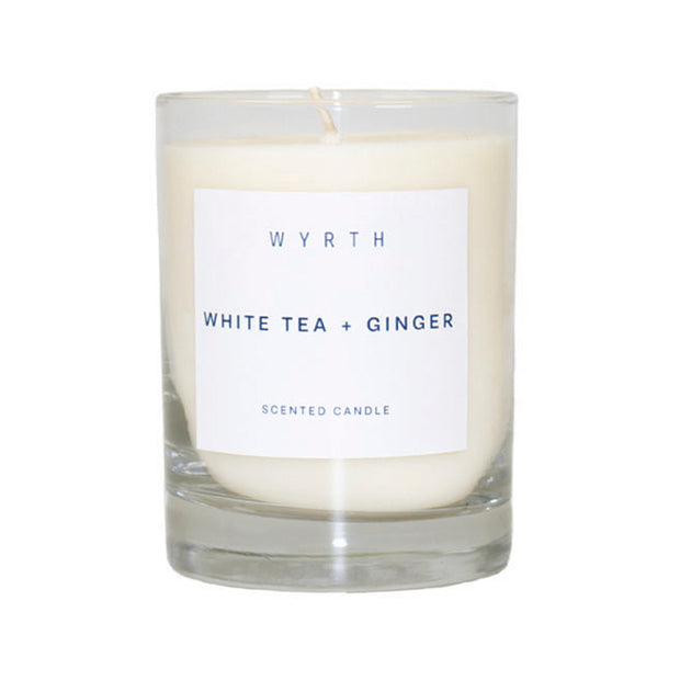 Wyrth White Tea and Ginger Candle