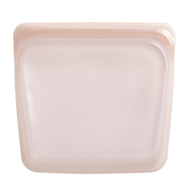 Stasher Pink Shimmer Sandwich Bag