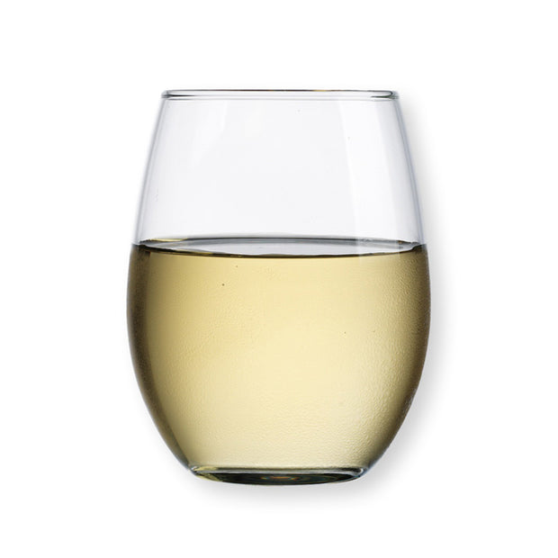 Basic Stemless White Wine Glasses - Set of 4