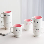 Sleepy Emoji Coffee Mug