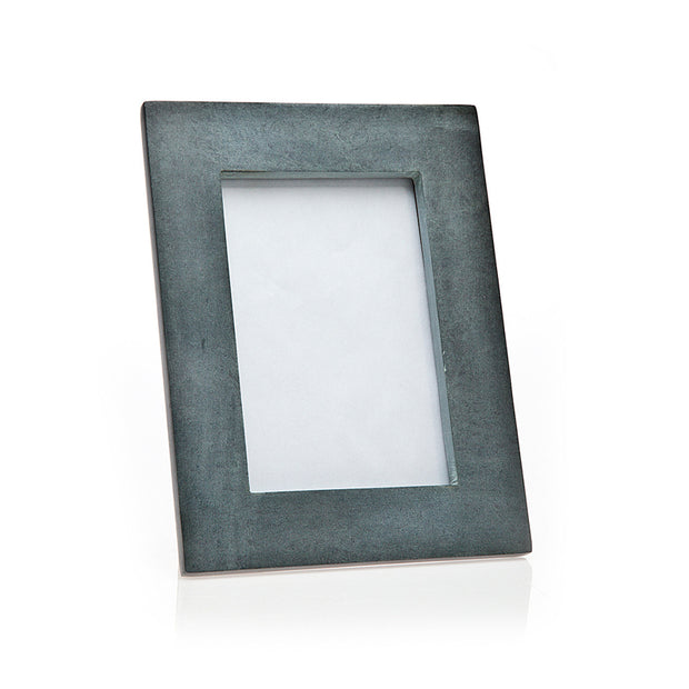 4x6 Grey Marble Picture Frame