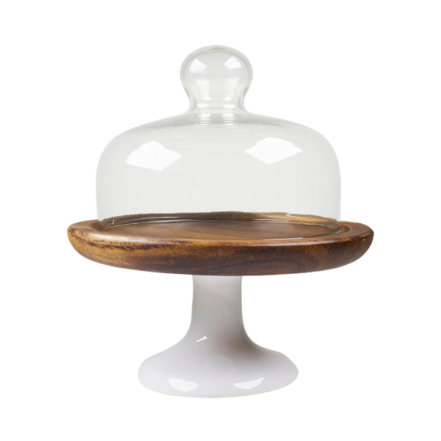 Cheese Server with Glass Dome