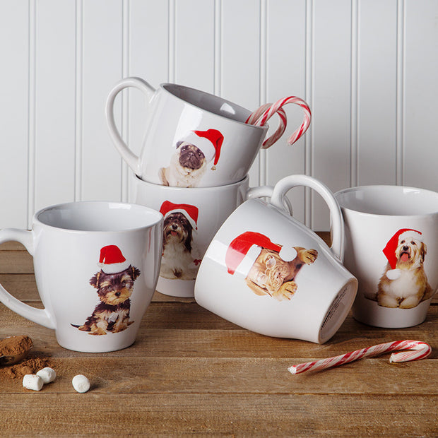 Christmas Dog Coffee Mug