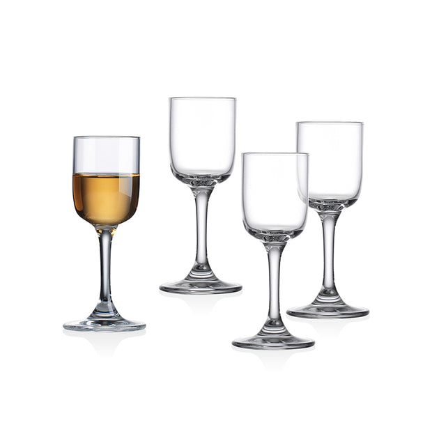 Linea Stemmed Shooters - Set of 4
