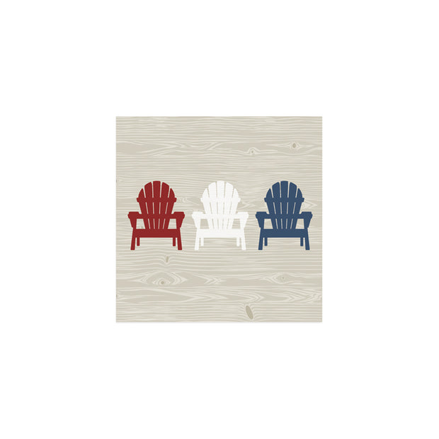 Muskoka Chair Cocktail Napkins - Set of 20