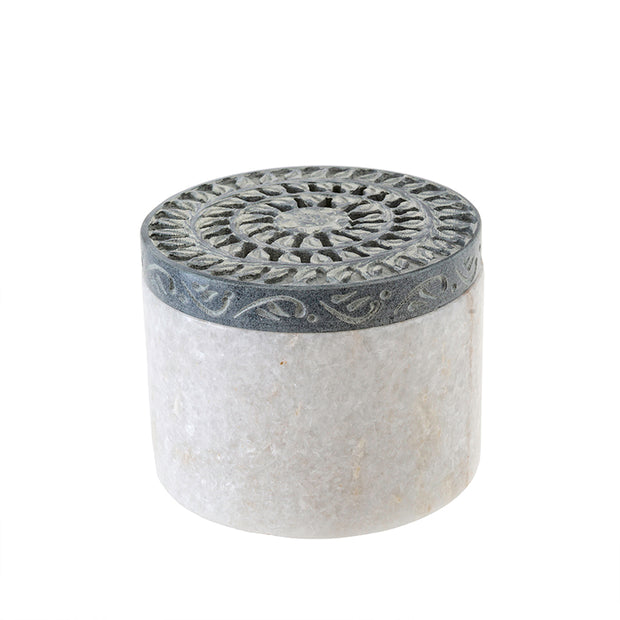 Magnolia Marble Canister